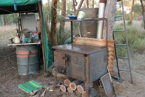 kitchen, Bimblebox camp