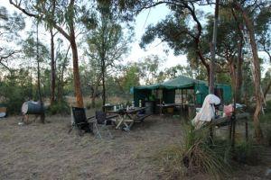 camp site headquarters