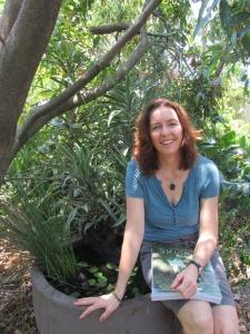 Beth Jackson in her garden (photo courtesy of Beth Jackson)