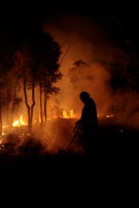 Fire on Bimblebox, by Glenda Orr