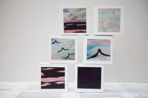 Liz Mahood, Copy This 1, 2, 3, 4, 5, 6, (detail) photo by Mel de Ruyter