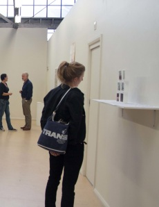 Copy This 1, 2, 3, 4, 5, 6, by Liz Mahood, Document://Bimblebox opening night, photo by Mel de Ruyter