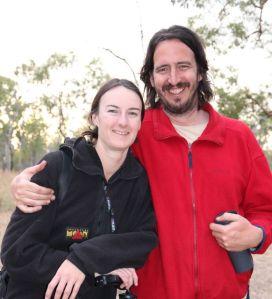 Emma and Greg Harm, photographers, at Bimblebox