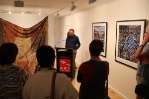 Rod Fensham opens Bimblebox: art - science - nature at Redland Art Gallery