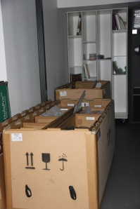 Crates, crates and more crates