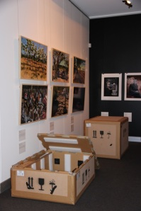 Little boxes in the gallery, but not all the same.