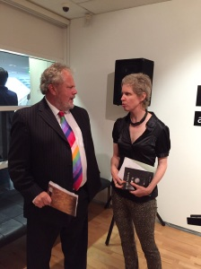 Professor Andrew Millington & Gallery Director Fiona Salmon