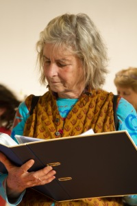Reading through the writers pieces at Bimblebox 153 Birds, photo Alana Brekelmans. the