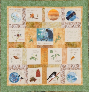 Bimblebox Nature Refuge Quilt, Maureen Cooper