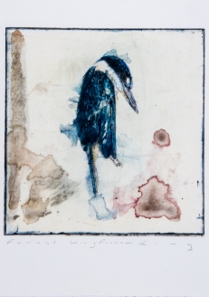 Forest Kingfisher, 2014, Artist Martin King, photo Paul Quintela