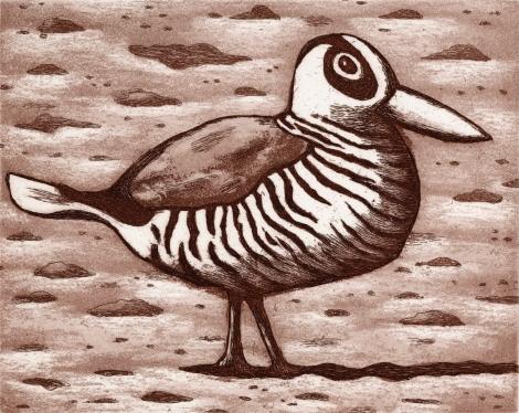 101 Pink eared duck, 2018, Reg Mombassa (2)