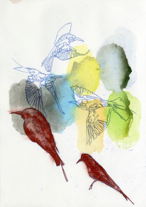 104 Rainbow Bird,2019, Judy Watson (1)